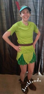 Peter Pan running costume