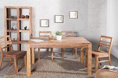 Luxusný nábytok REACTION: Jedálenský stôl z masívu MAKASSAR.