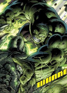 The Hulk Battles The Abomination