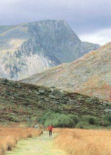 Cader Idris, near Aberdyfi, Wales. Have wanted to go there since my first read of The Grey King by Susan Cooper.
