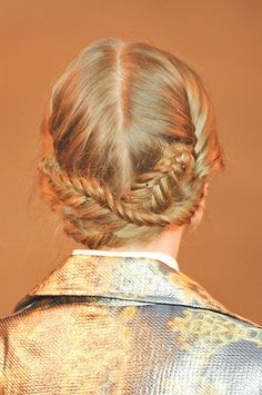 Braids were a huge trend during NYFW and are the perfect romantic addition to your prom look!
