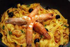 Cantinho da Somi: Marisco Spaghetti, Chicken, Meat, Ethnic Recipes, Portuguese Food, Portuguese Recipes, Noodle, Spices, Gastronomia
