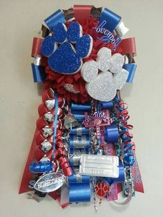 Homecoming Mum Garters Single Flower for all by TheFashionJunkies