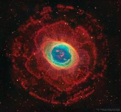 Rings Around the Ring Nebula via NASA