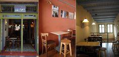 Καφενείο Καφαλτί στη Χίο. Όλες οι επιφάνειες επεξεργασμένες με προϊόντα AURO. Μελέτη - επίβλεψη: Ευγενία Μαρίνη