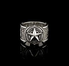 Bradbury Band- NightRider Jewelry - Sorry! This epic style has been retired. See our other equally cool rings here: http://nightriderjewelry.com/store/rings.html