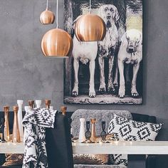 Fresco lime paint from Pure & Original in the color Pigeon Grey. Gray Interior, Luxury Interior, Interior Ideas, Dining Room Paint Colors, Paint Colours, Happy Sunday Morning, Lime Paint, House Colors, Fresco