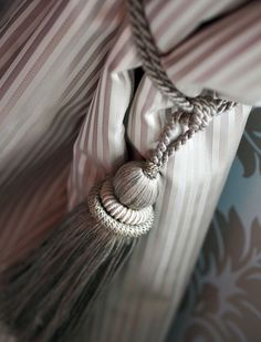 living room curtains - vintage style
