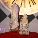 Disney And Louboutin Create Cinderella Princess Pumps!