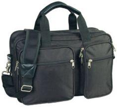 Expandable Laptop Portfolio - Black Case Pack 12