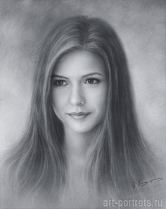 Sketch drawing of Ninf Dobrev by Dry Brush. 2016г.