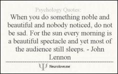 Beautiful quote by John Lennon