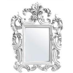 Venetian Painted Resin Frame Wall Mirror - Black