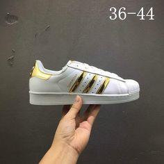 ebb296c4b4ad 2018 New Arrival Adidas Superstar White Golden Yellow G50962 Adidas  Superstar