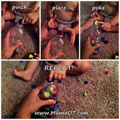 Fine Motor Fun for Babies and Toddlers