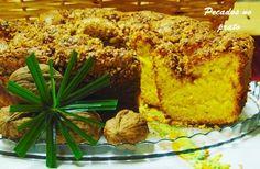 Receitas de pecados no prato: Pão de lo com crosta de nozes