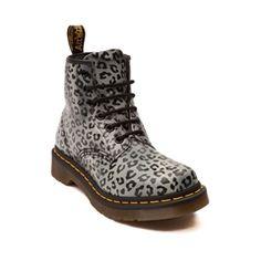 Womens Dr. Martens 6-Eye Leopard Boot