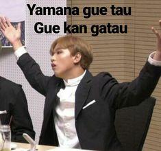 Memes Funny Faces, Funny Kpop Memes, Cute Memes, Funny Relatable Memes, Tea Meme, Drama Memes, Cartoon Jokes, Na Jaemin, K Idol