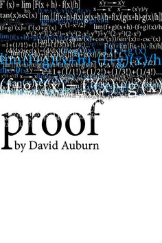 "Winner of the 2001 Pulitzer Prize, ""Proof by David Auburn"" at @TheatreofYugen in San Francisco July 13-14"