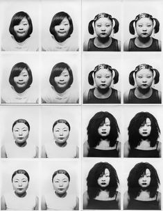 THE PHOTOGRAPHER Tomoko Sawada (b. 1977 in Kobe, Japan) has been part of the international art world for almost 20 years, exploring the concepts of personality and identity. Relying on her own face and body, Tomoko Sawada has impersonated countless… History Of Photography, Photography Camera, Portrait Photography, Body Photography, Photography Ideas, Illusion, Photos Booth, European American, Gelatin Silver Print