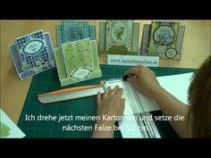 Karten basteln: Anleitung und Ratschläge - YouTube
