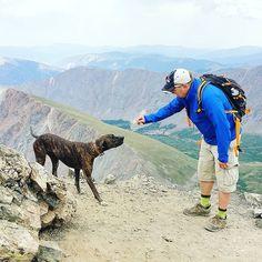 Making new friends at 4000 meters / 14000ft at Colorado's Rocky Mountains! It's unbelievable how dogs just bounce around when humans are breathing hard to drag themselves up the mountain.  #gotoxygen #14er #fourteener #torreyspeak #graysandtorreys #vuoret #mountains #vuoristo #elämääulkona #wildweekend #adventure #mondolöytö #rockies #rockymountains #hiking #patikointi #vaellus #outdoors #retkeily #retki #passionpassport #travel #matka #reissu @colorado14ers (via Instagram)