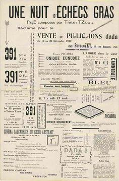 TristanTzara - NuitdEchecs DADAISMO 1920