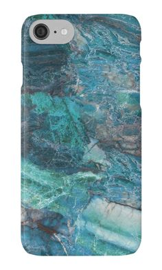 Siena Turchese - blue marble by marbleco iphone and samsung galaxy cases