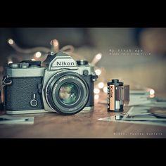 NIKON FM 2, my dream stuff                     Mi cámara de toda la vida! - http://lavieetmoi.com