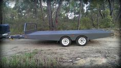 Brian from New South Wales did a great job fabricating this trailer, using our trailer plans, practically creating a clone of our 3D model - www.trailerplans.com.au