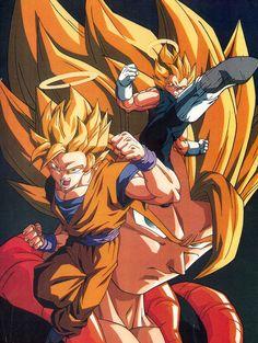 #DBZ #Goku #Vegeta Super Saiyajin #fusion #Gogeta #movie #pelicula