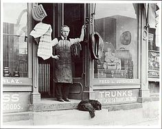 Dry goods store owner. Fred Jupenlez in Mansfield PA