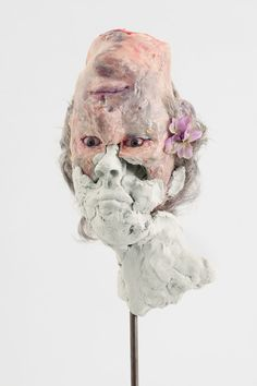 """Montreal-born, NY-based artist David Altmejd """"works in direct contact with psychic flux. What Is Contemporary Art, Contemporary Artists, David Altmejd, Appropriation Art, Ceramic Sculpture Figurative, Sculpture Head, New Media Art, Art Folder, Feminist Art"""