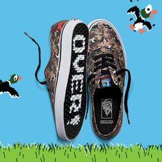 Vans et Nintendo présentent une vaste collection mettant en vedette chaussures, vêtements et accessoires.
