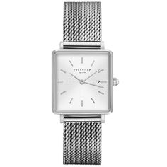 Rosefield óra: QWSS-Q02 óra rendelés Skagen, Square Watch, Watches, Bracelet, Box, Products, Color, Accessories, Cuckoo Clocks