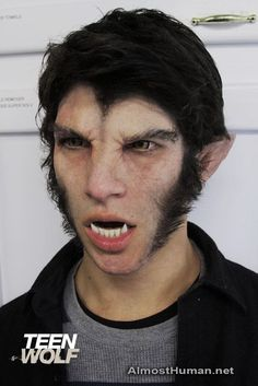 """The transformation of a Beta wolf in MTV's """"Teen Wolf."""" Description from pinterest.com. I searched for this on bing.com/images"""
