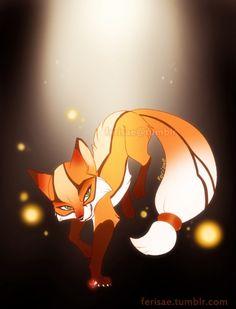 Volpina fox form by Ferisae