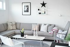 sofa and star