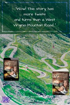 Captured Lies The Caspian Wine Suspense/Thriller/Mystery Series 1 Secrets And Lies, Mystery Series, Twists, West Virginia, Thriller, City Photo, Mountain, Books, Life
