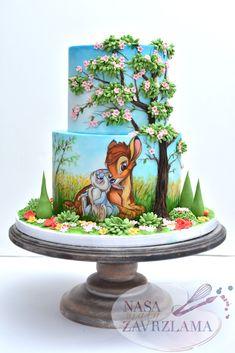 Ideas For Birthday Cake Disney Desserts Disney Desserts, Disney Cupcakes, Fancy Cakes, Cute Cakes, Birthday Cake Girls, Birthday Cake Disney, Birthday Ideas, Husband Birthday, Birthday Cupcakes