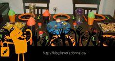 Decoración de mesa principal para halloween!!!