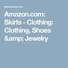 Amazon.com: Skirts - Clothing: Clothing, Shoes & Jewelry