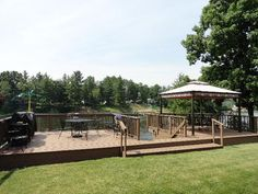 Wixom Lake Water Side Deck!  1321 McKimmy, Beaverton, MI.