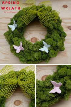Spring wreath by mARTaspirit