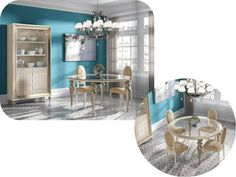 Comedor / Dining room furniture www.decorhaus.es/es/ #muebles #Málaga #furniture
