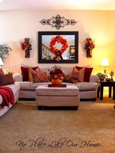 91 Adorable Autumn Interior Designs Ideas For Home Interiors Looking for beautiful autumn interior designs ideas? We are here to supply you with some of the most interesting autumn interior design ideas t. Fall Living Room, Living Room Decor, Living Rooms, Apartment Living, Fall Home Decor, Interiores Design, Home Interior Design, Diy Interior, Modern Interior