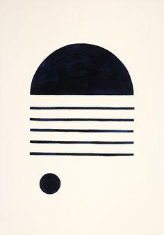 Bobby Clark — Half Moon Over Water Bobby Clark — Half Moon Over Water Modern Art, Contemporary Art, Contemporary Furniture, Grafik Design, Art Design, Geometric Art, Diy Art, Art Inspo, Artwork