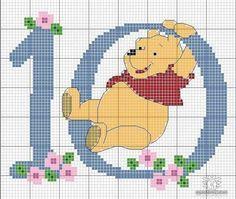 Winnie Poo 10: punto cruz
