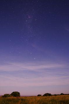 Full Moon, Milky Way and the Nova