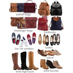 Spencer Hastings Essentials part 3 by liarsstyle on Polyvore featuring polyvore fashion style Frye JustFabulous Naturalizer Pull&Bear Keds Tory Burch H&M Sam Edelman Ollio Steve Madden Charlotte Russe Longchamp AmeriLeather Aéropostale FC Select Vegan Bags Marc New York The Cambridge Satchel Company Call it SPRING